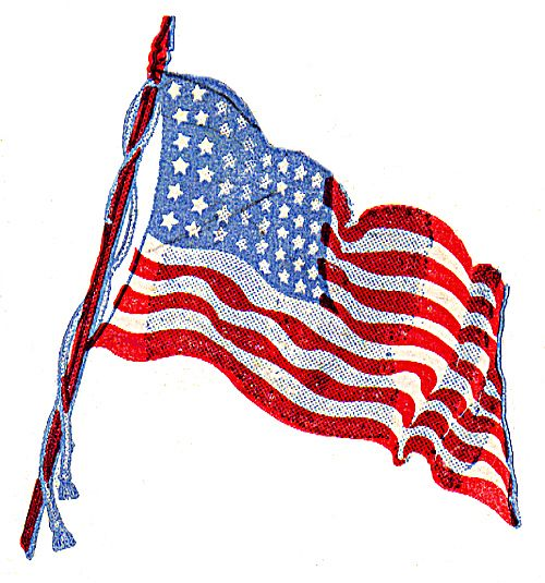 italian american flag tattoos. american flag waving